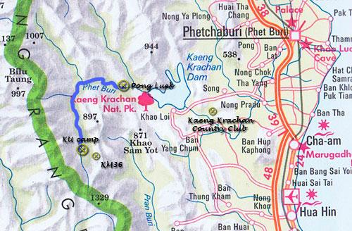 national parks kaeng krachan park